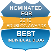 Nominated Best Individual Blog