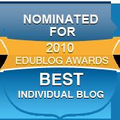 Nominated Best Individual Blog