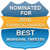 Nominated Best Individual Tweeter