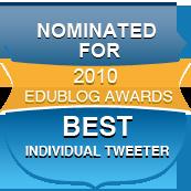Nominated Best Individual Tweeter