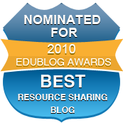 Nominated Best Resource Sharing Blog