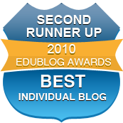 Second Runner Up Best Individual Blog