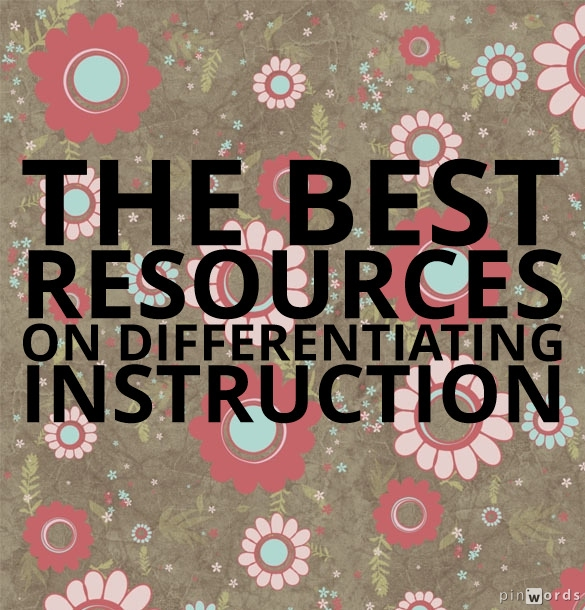 The Best Resources On Differentiating Instruction Larry Ferlazzos