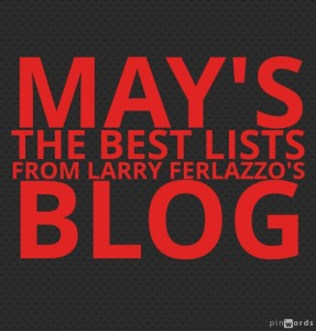 May's The Best Lists From Larry Ferlazzo's Blog