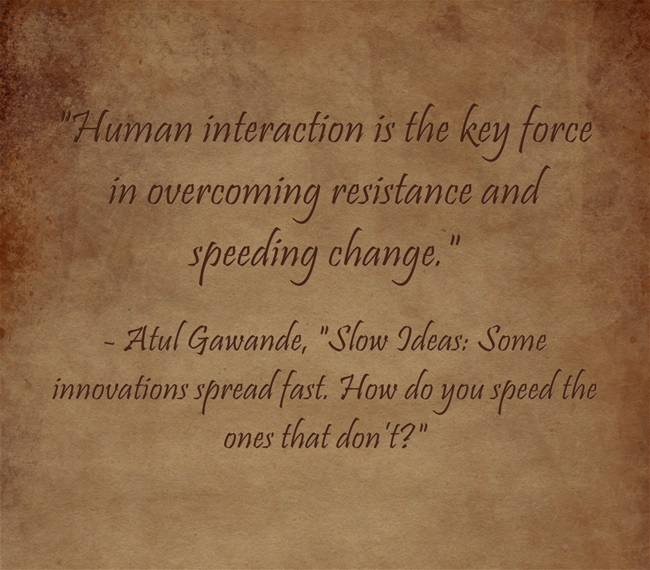 Human-interaction-is-the