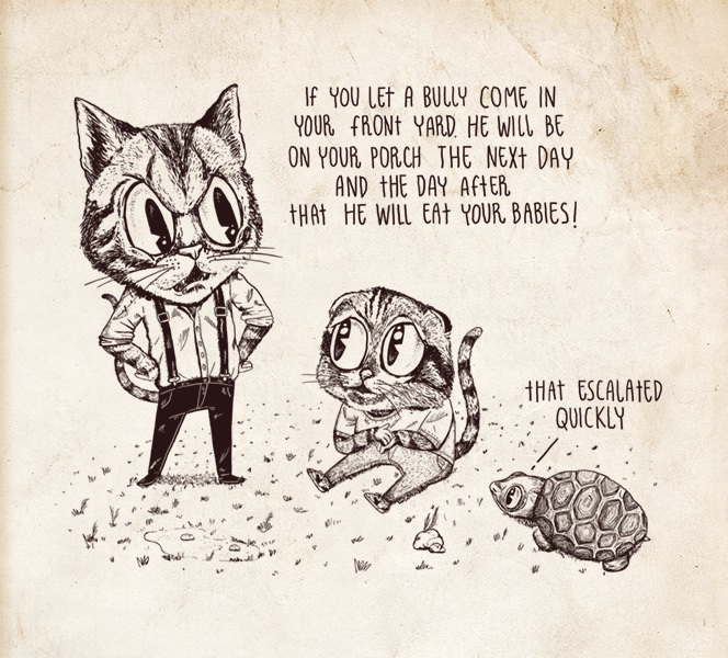 Illustrated-Fallacies-Slippery-Slope