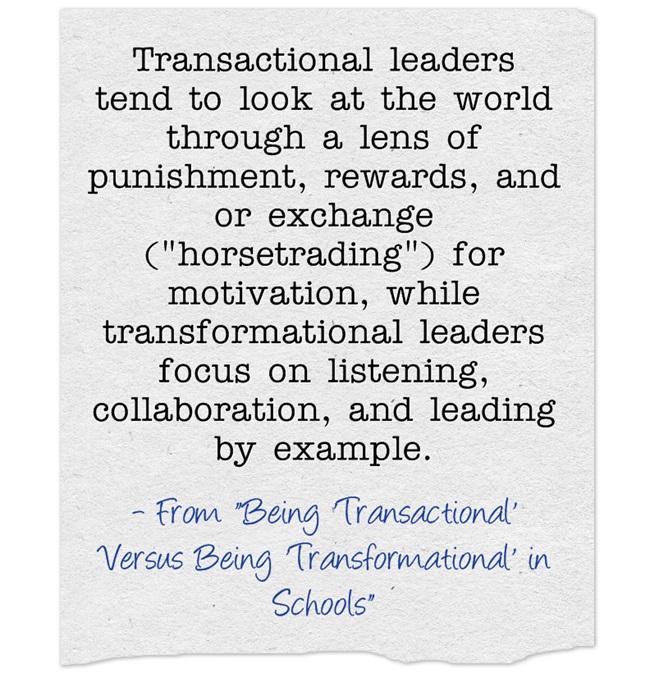 Transactional-leaders