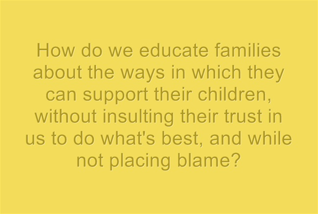How-do-we-educate