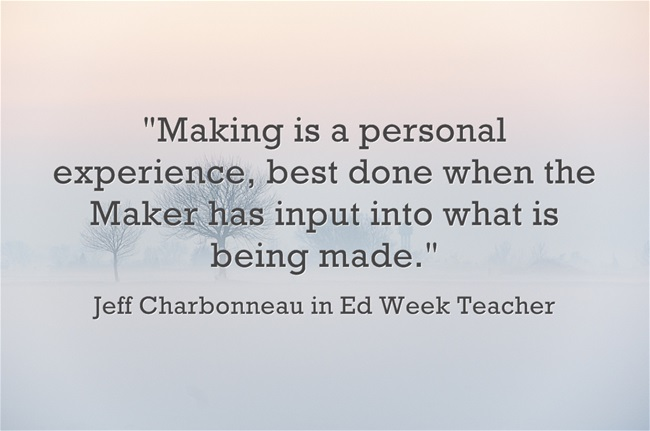 Making-is-a-personal