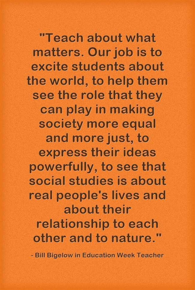 Teach-about-what-matters