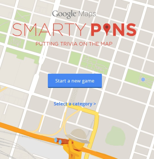 """Smarty Pins"""" Is A New Geography Game From Google   Larry ... on google maps 13 colonies, google maps discoveries, google maps people, google maps elevation, google maps water, google maps countries, google maps of earthquakes, google maps central america, google maps compass rose, google maps population density, google maps aviation, google maps satellite imagery, google maps altitude, google maps by car, google maps places, google maps 50 states, google maps creepy stuff, google maps clip art, google maps travel, google maps flight paths,"""