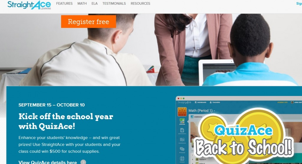 """Straight Ace Learning"""" Lets You Create Free English & Math Virtual ..."""