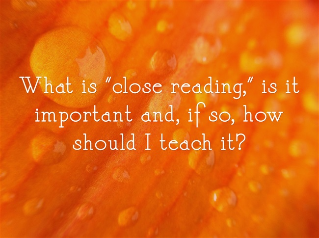 What-is-close-reading-is