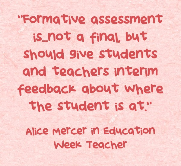 The Secret Sauce Of Formative Assessment  Larry FerlazzoS