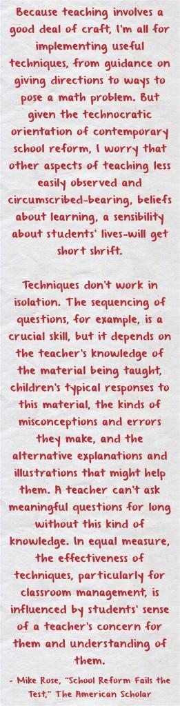 Because-teaching