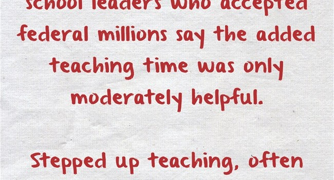 Quote Of The Day More Time For Teacher Collaboration Better Than