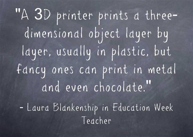 A-3D-printer-prints-a