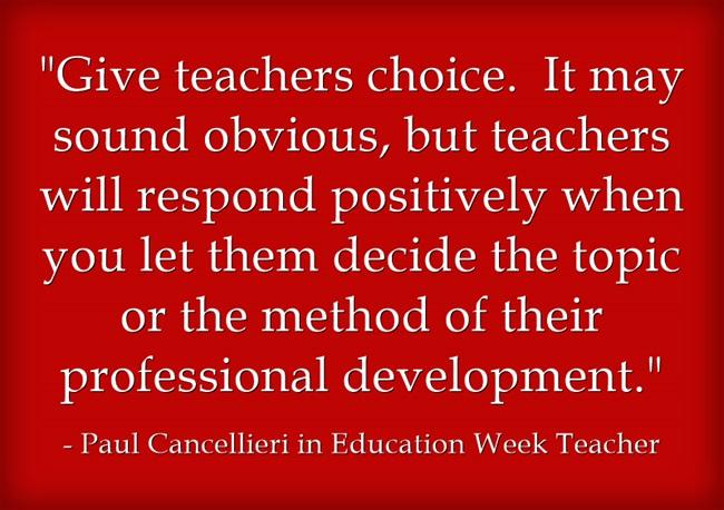 Give-teachers-choice-It