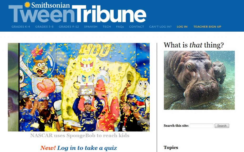 Thanks To Reader Vincy Murgillo For Letting Me Know About The Smithsonian S Tween Tribune