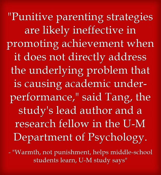 Punitive-parenting