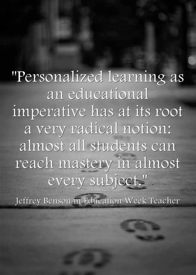 Personalized-learning-as