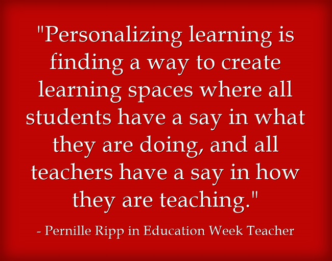 Personalizing-learning