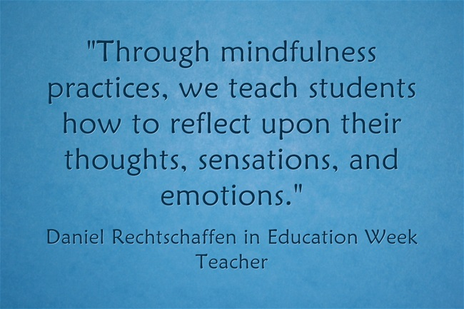 Through-mindfulness
