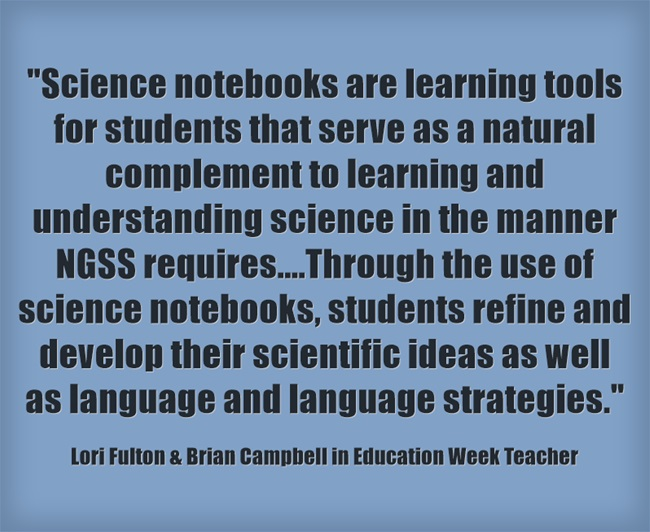 Science-notebooks-are