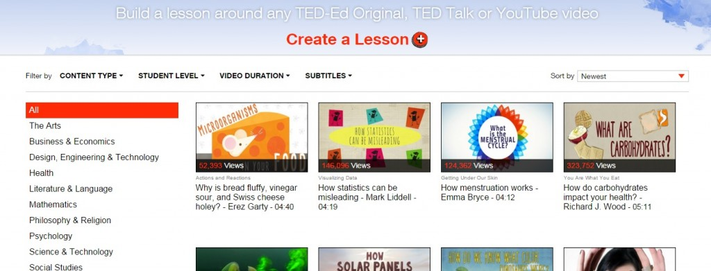 This Could Come In Handy: TED-Ed Now Lets You Organize Their Lessons By Language Subtitles