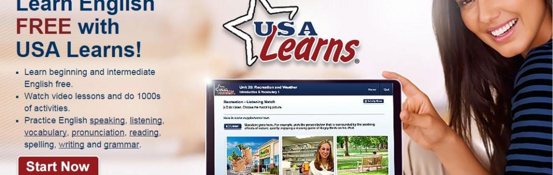 Top-Notch English Site, USA Learns, Unveils Rebuilt Version