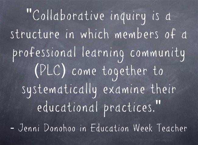Collaborative-inquiry-is