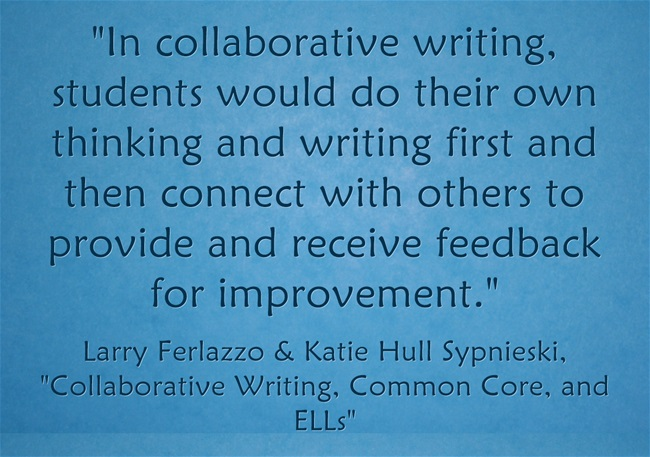 In-collaborative-writing
