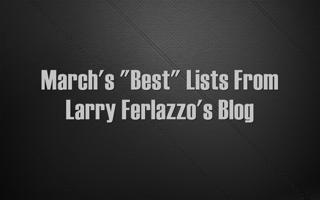 Marchs-Best-Lists-From