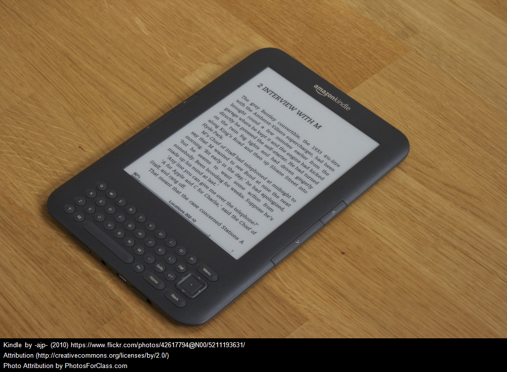 Request Free Kindle E-Readers For Your Classroom