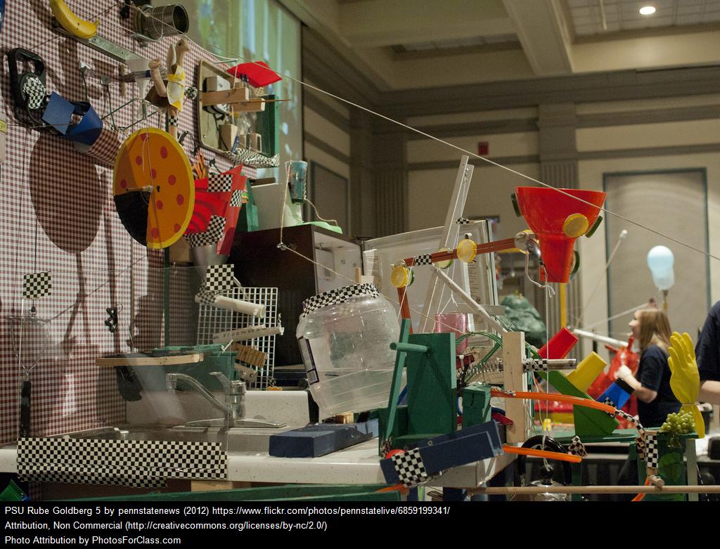 Cool Video: A School-Wide Rube Goldberg Machine | Larry ...