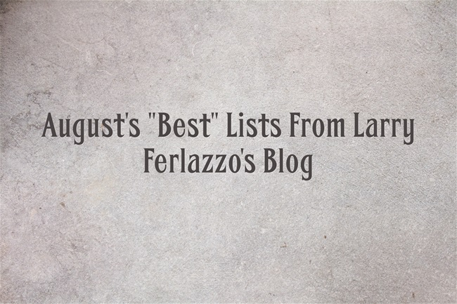 Augusts-Best-Lists-From