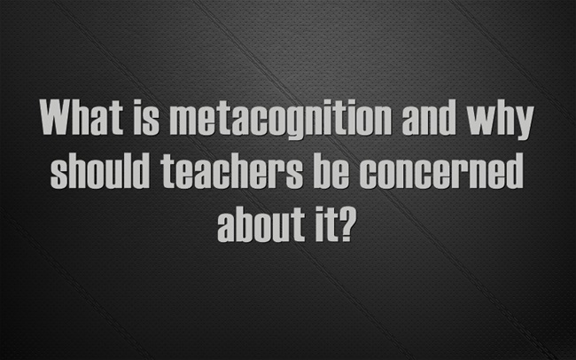 what-is-metacognition