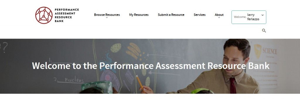 Great Free Resource Available Today – The Performance Assessment Resource Bank