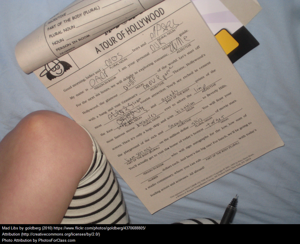 Jimmy Fallon Takes Mad Libs To Another Level & It May Be Useful For