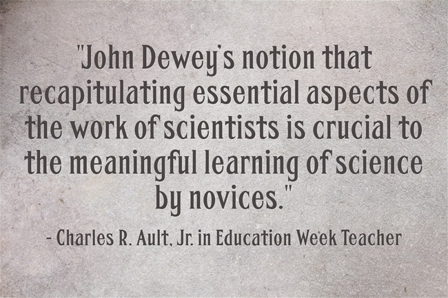 john-deweys-notion-that