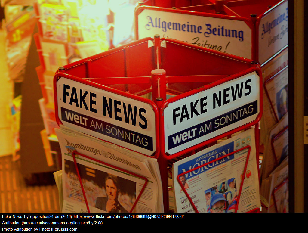 "Useful Resources On ""Fake News,"" Including An NPR Story Highlighting My Lesson"