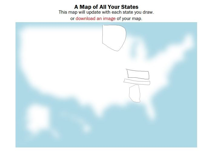 New Geography Game Can You Draw The States Larry Ferlazzos - Usa map you can draw on