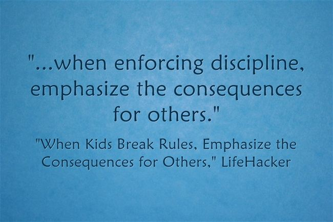 Focusing On The Impact Classroom Disruptions Have On Others, Not On The Students Doing The Disrupting