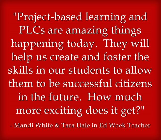"""""""The Most Exciting Things Happening In Education Are…"""""""