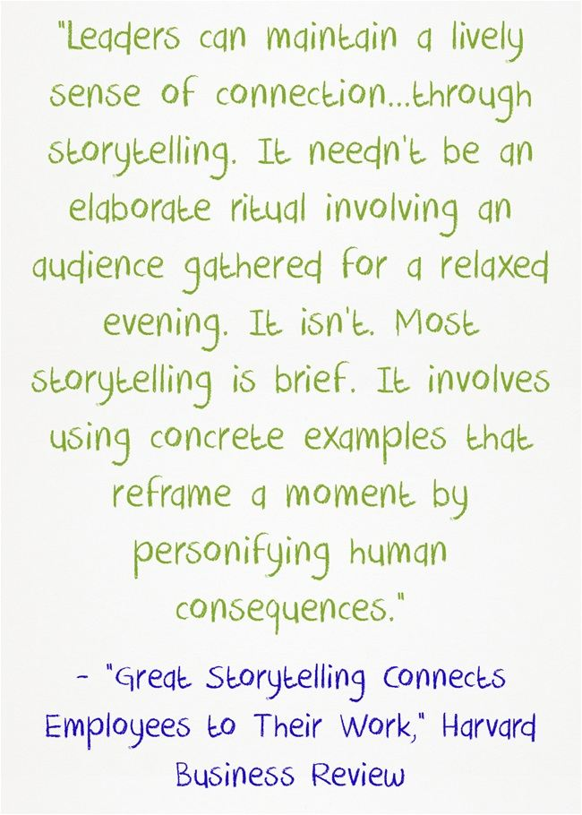 Storytelling As A Classroom Management Strategy