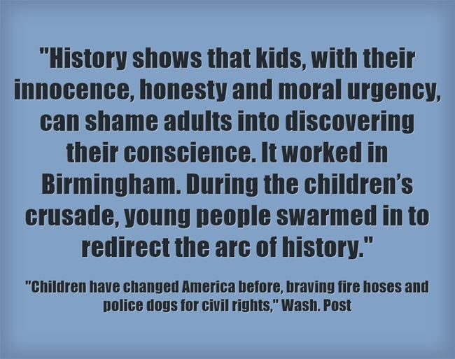 Quote Of The Day Young People Can Redirect The Arc Of History