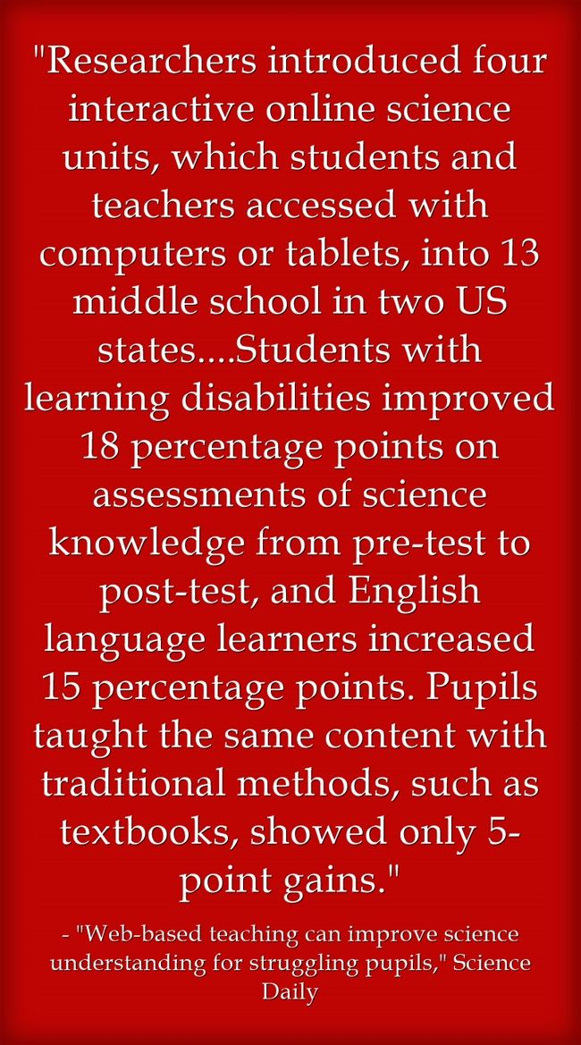 Study Shows Positive Impact Of Ed Tech On ELLs & Students With Special Needs