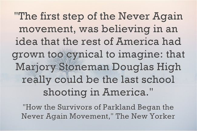 Quote Of The Day Marjory Stoneman Douglas High Really Could Be