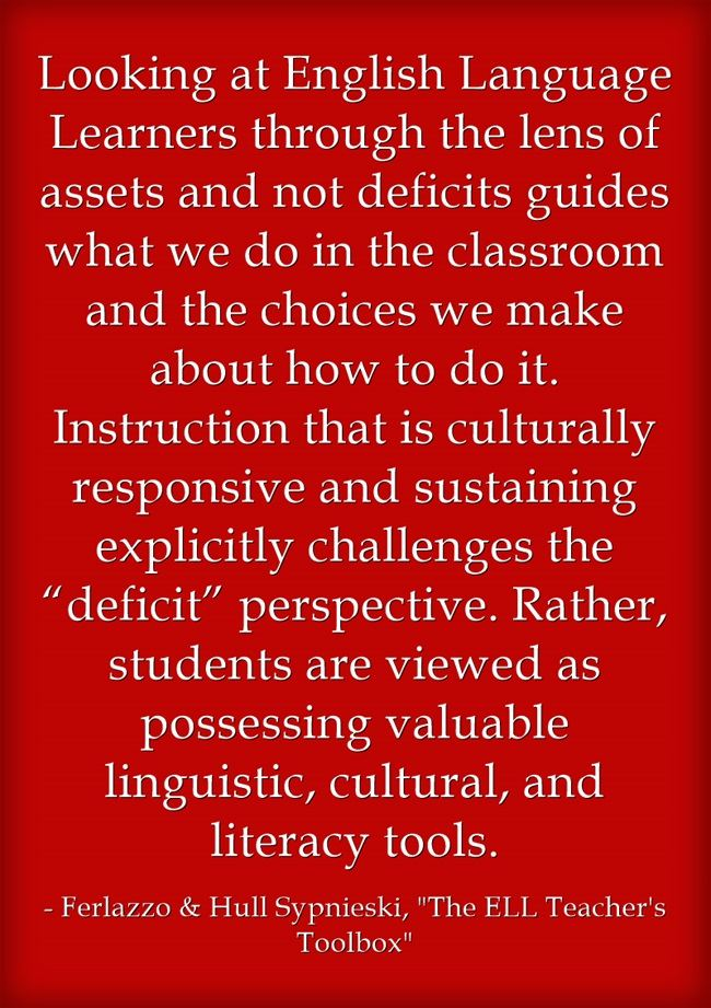 Culturally Responsive Teaching In The Ell Classroom Larry