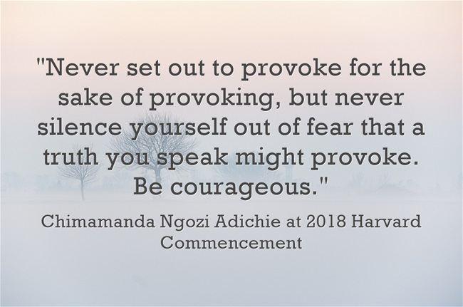 """""""Author Chimamanda Ngozi Adichie addresses Harvard's Class of 2018"""""""